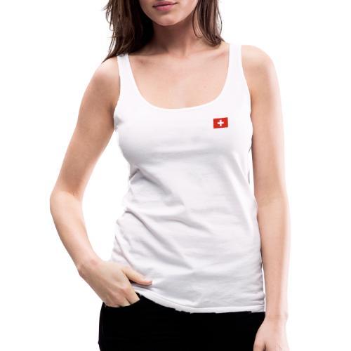 Bandera de Suiza - Camiseta de tirantes premium mujer