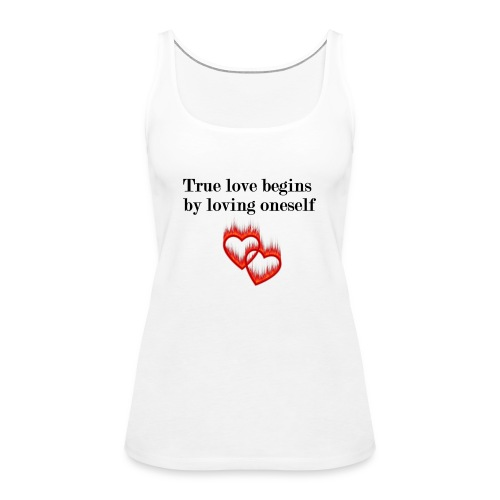 LOVE YOURSELF - Camiseta de tirantes premium mujer