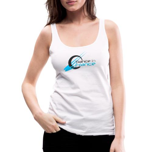 Trance In France White - Large Logo - Débardeur Premium Femme