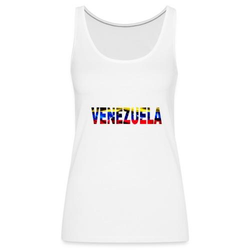 Venezuela tricolor - Camiseta de tirantes premium mujer