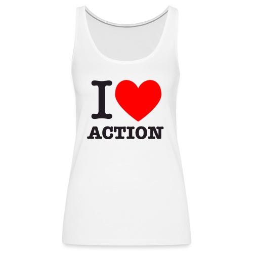 ich liebe action - Frauen Premium Tank Top