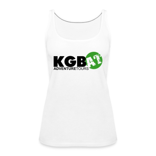 Logo KGB AT Spreadshirt 2 - Frauen Premium Tank Top