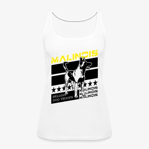 Malinois - Belgian Dog Troops - Frauen Premium Tank Top