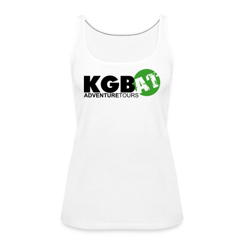 Logo KGB AT Spreadshirt 2 - Frauen Premium Tank Top