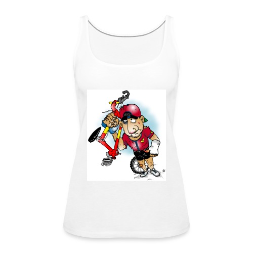 BoarderMax Bike Crash - Frauen Premium Tank Top