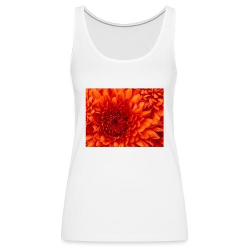 Chrysanthemum-jpg - Canotta premium da donna