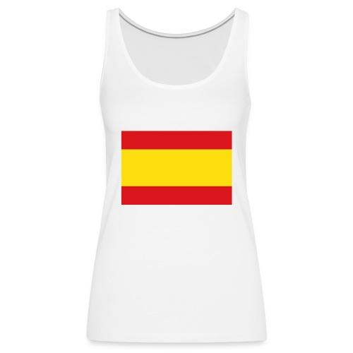 vlag van spanje - Vrouwen Premium tank top