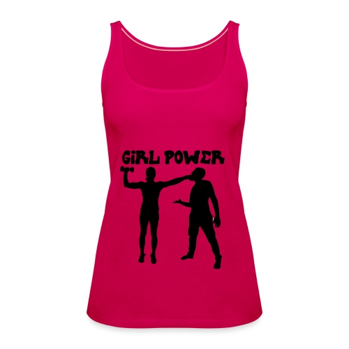 GIRL POWER hits - Camiseta de tirantes premium mujer
