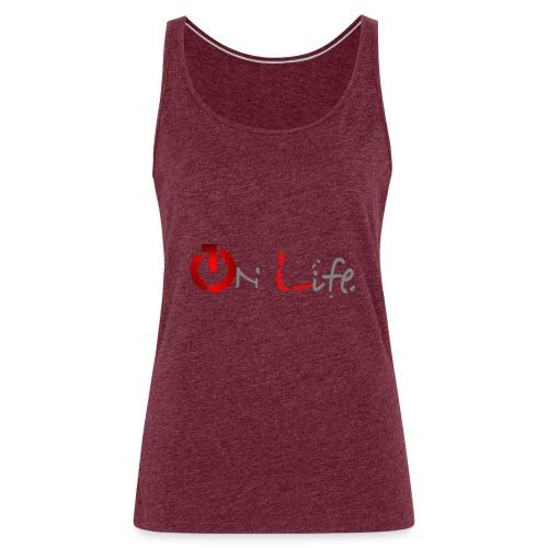OnLife Logo - Débardeur Premium Femme