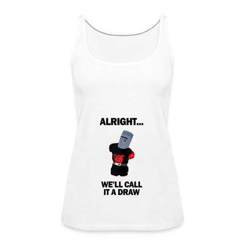 The Black Knight - Women's Premium Tank Top