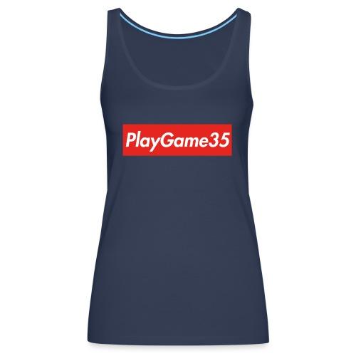 PlayGame35 - Canotta premium da donna