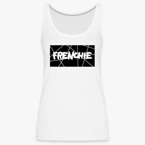 Frenchie Black & White - Frauen Premium Tank Top