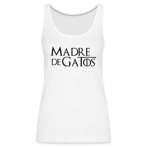 0 texto esp png - Camiseta de tirantes premium mujer