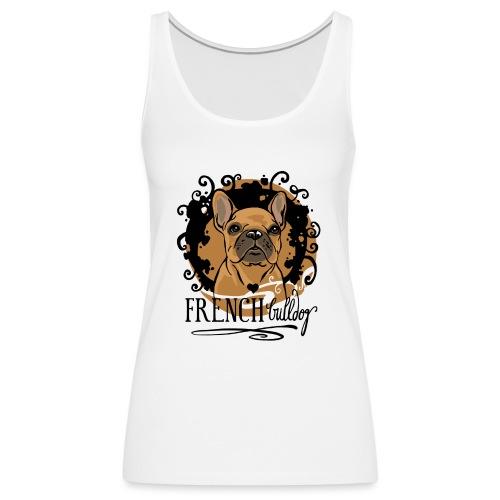 French Bulldog bunt - Frauen Premium Tank Top