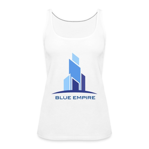 Logo Azul - Camiseta de tirantes premium mujer
