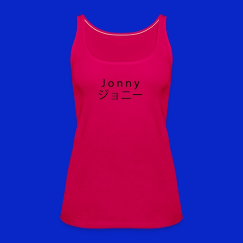 J o n n y (black) - Women's Premium Tank Top
