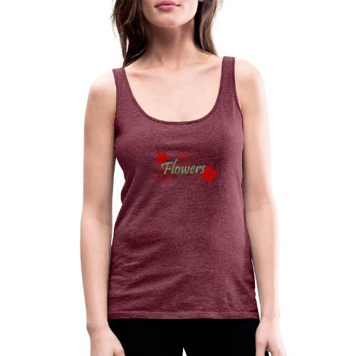 Flowers - Frauen Premium Tank Top