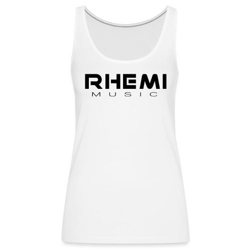 Classic Rhemi Logo Black - Women's Premium Tank Top