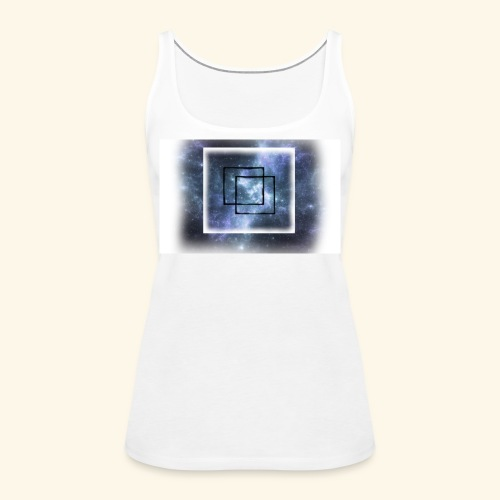 cube nebula - Frauen Premium Tank Top