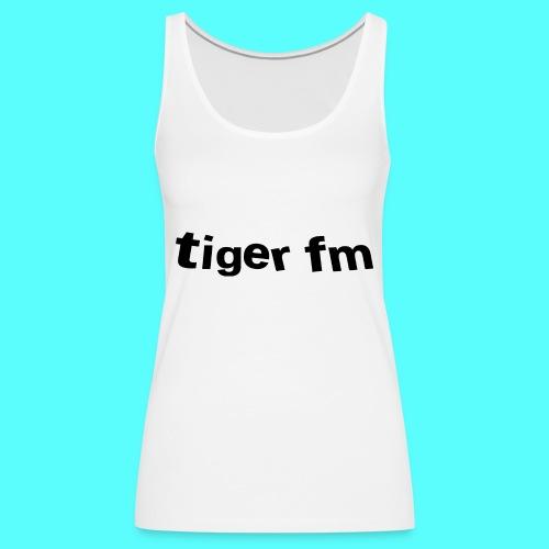 tiger fm logo - Frauen Premium Tank Top