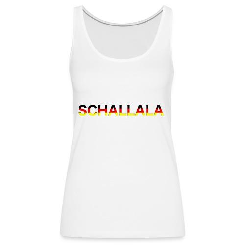 Schallala - Frauen Premium Tank Top