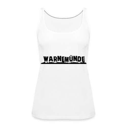 Warnemünde - Hollywood - Frauen Premium Tank Top