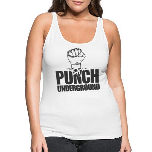 Punch Underground Black - Frauen Premium Tank Top