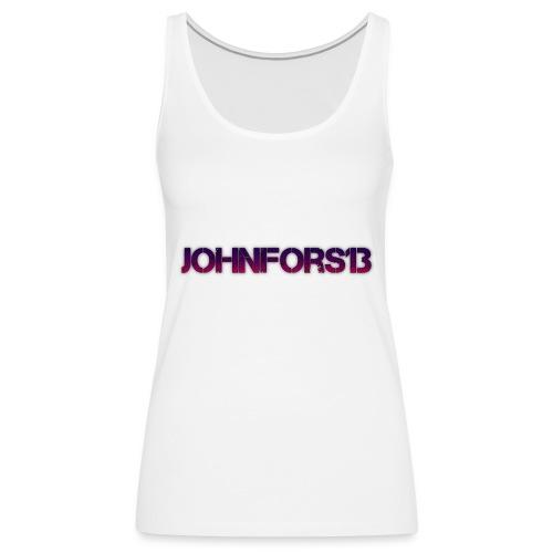 JohnFors13 Logo - Premiumtanktopp dam
