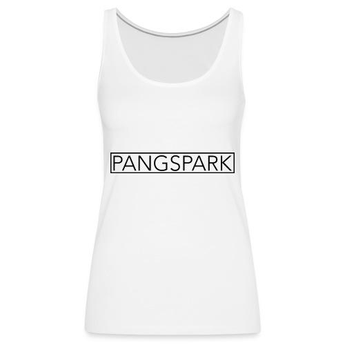 Pangspark T-Shirt Vit - Premiumtanktopp dam