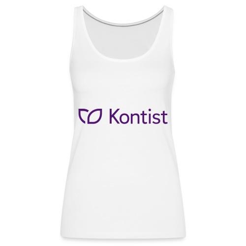 Kontist Logo - Frauen Premium Tank Top