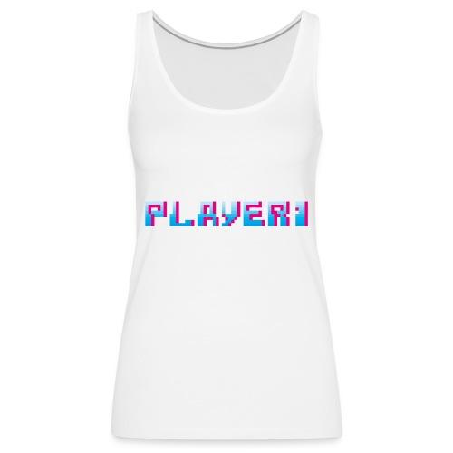 Arcade Game - Player 1 - Women's Premium Tank Top