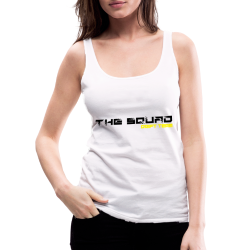 The Squad Logo Sort - Dame Premium tanktop