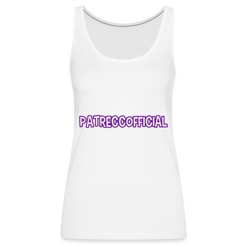 PatrecCOfficial Twitch - Premiumtanktopp dam