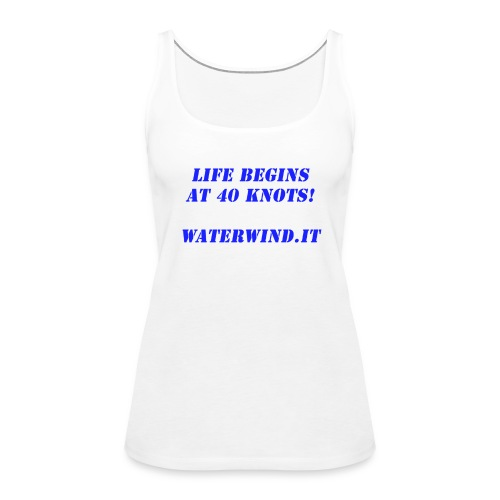 Life Begins - Women's Premium Tank Top
