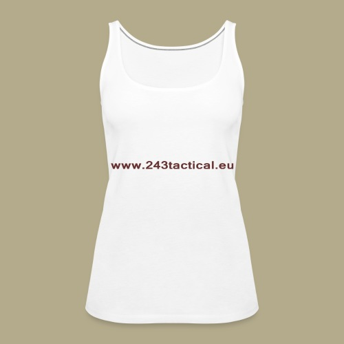 .243 Tactical Website - Vrouwen Premium tank top