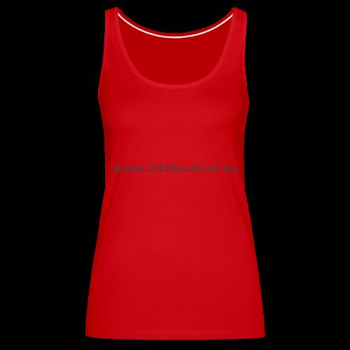 .243 Tactical Website - Vrouwen Premium tank top