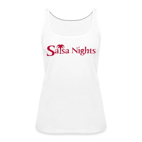 logo Red 2019 trimmed edge - Women's Premium Tank Top