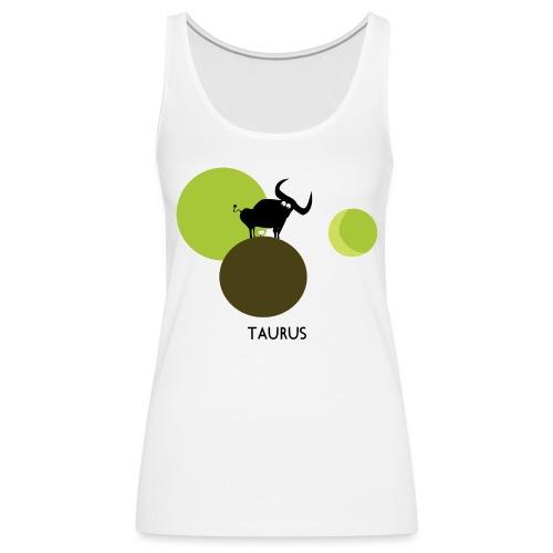 Unconventional zodiac :taurus - Canotta premium da donna
