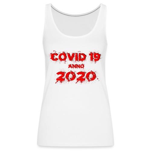 COVID 19 anno 2020 - Frauen Premium Tank Top