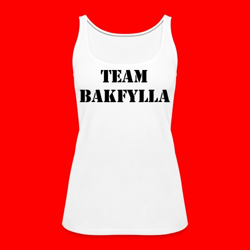 Team Bakfylla - Premiumtanktopp dam
