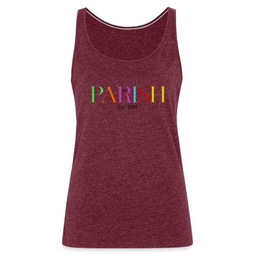 Jessica Parish Color-Schriftzug - Frauen Premium Tank Top