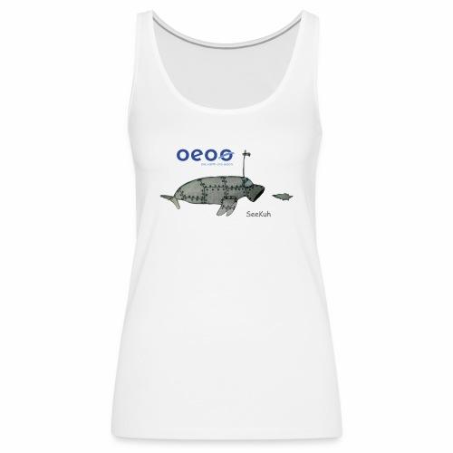 oeoo SeeKuh - Frauen Premium Tank Top