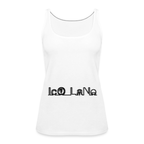 IcO LaNe Logo Black - Frauen Premium Tank Top