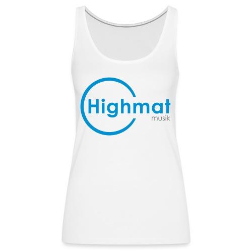 Highmatmusik Logo Shirt *SlimFit* - Frauen Premium Tank Top
