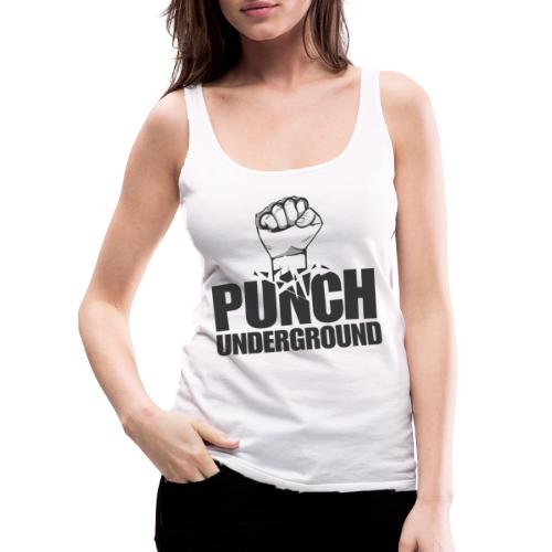 Punch Underground Black - Frauen Premium Tank Top