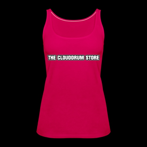 THE CLOUDDRUM STORE - Vrouwen Premium tank top