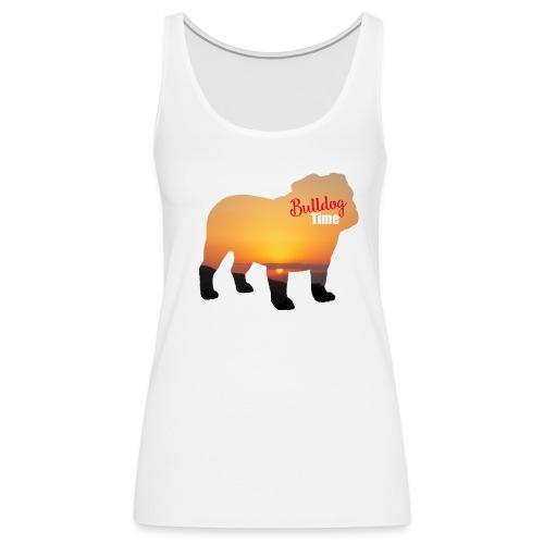 Bulldog Summer Time - Camiseta de tirantes premium mujer