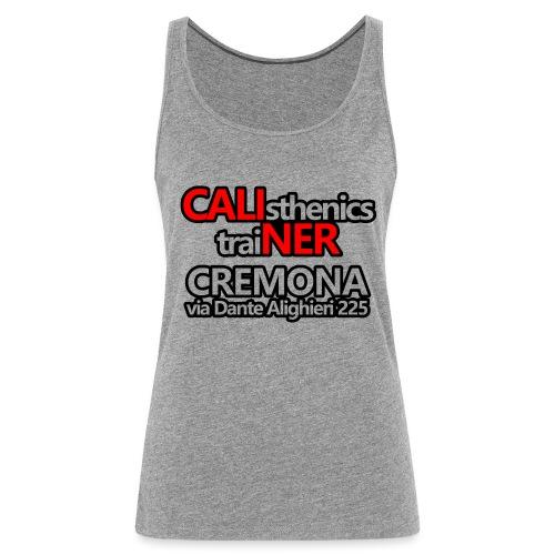 Caliner Cremona T-shirt - Canotta premium da donna