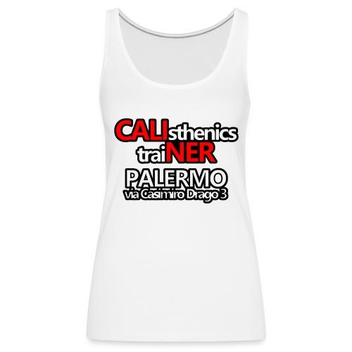 Caliner Palermo T-shirt - Canotta premium da donna