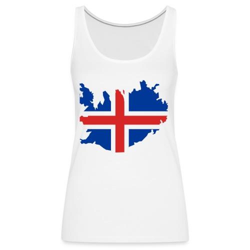 Iceland - Vrouwen Premium tank top